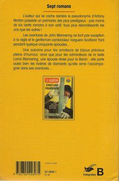 Les Intégrales du Masque - A. Morton - Le Baron - Volume 3 - Verso - Février 1997