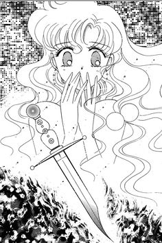Mermaid Panic: The Dagger Sailor Moon Manga, Sailor Moon Art, Sailor Moon Crystal, Manhwa, Manga Anime, Ojamajo Doremi, Sailor Moon Aesthetic, Naoko Takeuchi, Princess Serenity