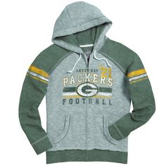 Packers Women's Tame The Tide Full Zip Fleece