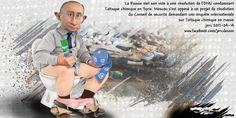 dessin de JERC vendredi 14 avril 2017 caricature Vladimir Poutine graine de dictateur ou tsar psychopathe ? www.facebook.com/jercdessin