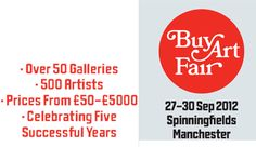 Founded in Manchester Art Fair is one of the UK's most ambitious art fairs, selling modern & contemporary paintings, sculpture, photography and editioned prints from a selection of UK and international galleries on October at Manchester Central.