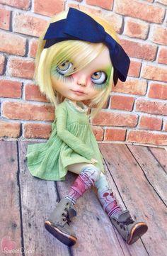 RESERVADO para E. - Simone - Custom Blythe Doll - #87