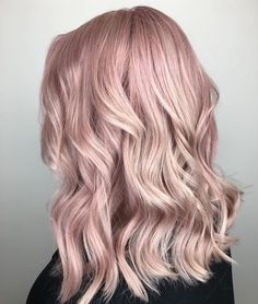 """4,494 Likes, 112 Comments - #MODERNSALON (@modernsalon) on Instagram: """"Whimsical whispers of powder pink by @stylistshannonnicole. Use #modernsalon and show us your magic!"""""""