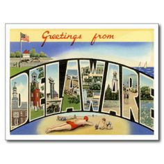 >>>Low Price          Greetings from  DELAWARE DE Post Card           Greetings from  DELAWARE DE Post Card we are given they also recommend where is the best to buyHow to          Greetings from  DELAWARE DE Post Card lowest price Fast Shipping and save your money Now!!...Cleck Hot Deals >>> http://www.zazzle.com/greetings_from_delaware_de_post_card-239271242169605820?rf=238627982471231924&zbar=1&tc=terrest