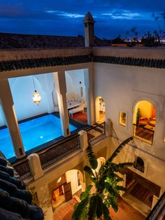 Adilah is a 4 bedroom luxury riad in the medina of Marrakech. It features an outdoor heated pool and a rooftop terrace with incredible views over the city.