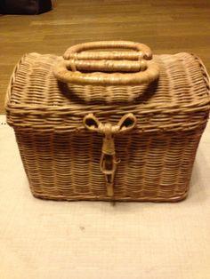 Pannier Basket アンティーク 籐のミニバスケット インテリア 雑貨 家具 Antique ¥500yen 〆05月26日
