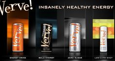 This is not your usual energy drink, Verve uses natural sugar, vitamins and minerals that your body already has and builds on them to give you the energy you need to get through your day!