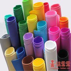 Coală mare de grosimea hârtiei 1MM burete de cauciuc și spumă de hârtie colorată hartie manuala Hartie * pepinieră materiale de ambarcațiuni de bricolaj