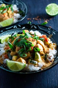 Delicious authentic Fish Panang Curry on the table in 20 minutes.