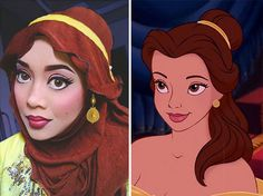 She even does Jafar.