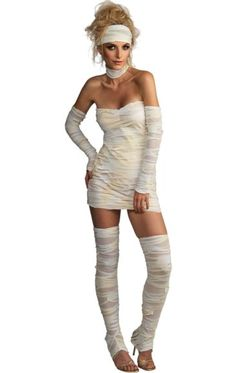 Ladies' Mummy Costume | Jokers Masquerade