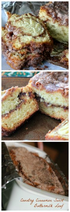 Country Cinnamon Swirl Buttermilk Loaf