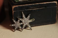 vintage starry hairpin? brooch?