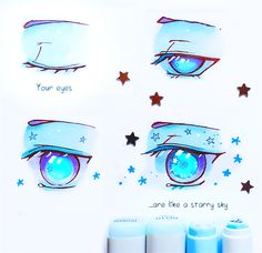 +Your Eyes like Starry Sky+ by larienne on DeviantArt