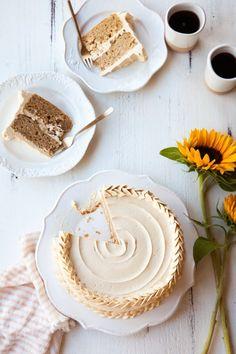 Pear Dulce de Leche Cake Recipe - https://www.stylesweetca.com/blog/2017/11/20/pear-dulce-de-leche-cake-recipe