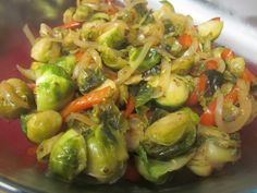 Stone Pale Ale and Garlic Stir-Fried Brussels Sprouts | Recipe | Ales ...