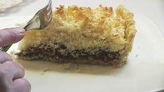 Tarta de Coco y Dulce de Leche - para los amantes del coco, nada mejor que esta tarta de dulce de leche y mucho coco. Dulce y muy tentadora, para la hora del té.
