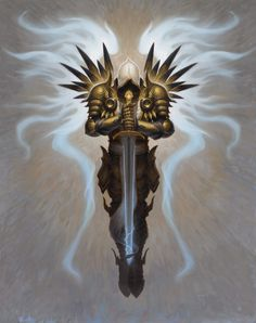 Tyrael - Diablo 3 (The Angel who fell for humanity)