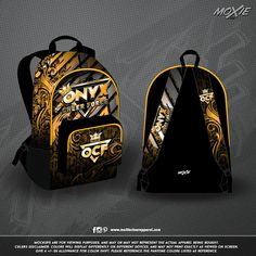 f8b9276824ff Custom cheer BACKPACK for ONYX CHEER FORCE by moXie cheer apparel!