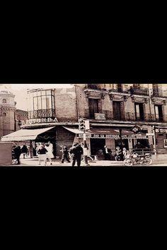 La Rotonda, esquina Francos Rodriguez con Bravo Murillo