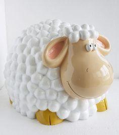 Jumbo Sheep Moneybox, $84.00  www.novelgifts.com.au