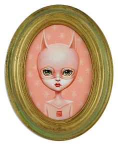 Title: Bat Girl (Pinkly); Artist: Mab Graves | Flickr - Photo Sharing!