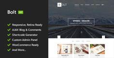 Bolt - Responsive WordPress Theme
