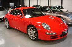 Porsche 997 C2S Guards Red