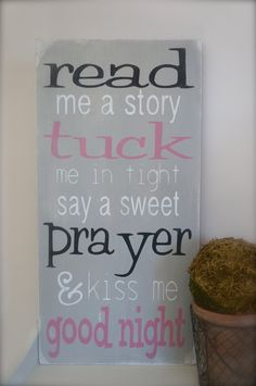 Nursery Quote Wood Sign by InMind4U
