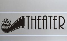 Home Theater wall decal - Arise Decals