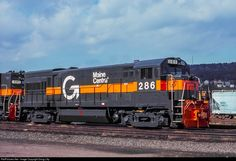RailPictures.Net Photo: MEC 286 Maine Central GE U23B at Conklin, New York by Doug Lilly