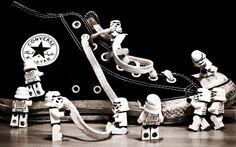 #Converse #starwars #lego