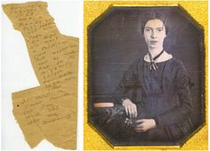 "Emily Dickinson is the subject of this Poetry Pairing, which features her poem ""Forever – is composed of Nows –"" and the article ""Enigmatic Dickinson Revealed Online"" by Jennifer Schuessler."