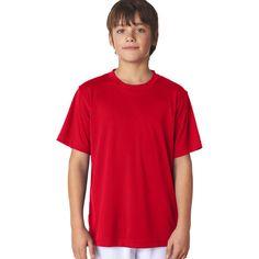 Cool & Dry Sport Boys' Performance Interlock T-Shirt