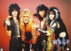 - 86 line upSteve RileyChris Holmes. The Heavy Band, Blood Drive, Wasp, West Hollywood, Lineup, Heavy Metal, Rock And Roll, Punk, Wonder Woman