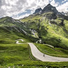 "rollersinstinct: "" Roads I'd like to ride: Col du Glandon in France photographed by the Col Collective. Cycling Art, Road Cycling, Cycling Bikes, Cycling Quotes, Cycling Jerseys, Road Bikes, Beautiful Roads, Beautiful Places, Cycling Holiday"