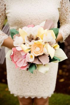 Hey, I found this really awesome Etsy listing at https://www.etsy.com/listing/242411985/paper-flower-bouquet-wedding-paper