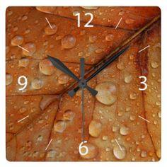 #Autumn #Wall #Clock