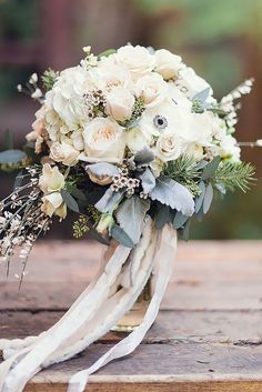 White and cream bouquet