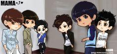 Luhan - EXO-M by AdamaSto.deviantart.com | Chibi ...