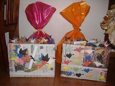 Pacote de presente surpresa de natal - Castorina