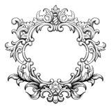 Vintage Baroque Frame Scroll Ornament Vector - Download From Over 56 Million High Quality Stock Photos, Images, Vectors. Sign up for FREE today. Image: 54781796