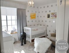 We are using our GRAY room for baby Girl # 2...hoping to use pink or purple as an accent.  Super cute, but I need some color....baby development, mood, ...,