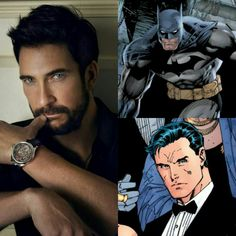 Dylan McDermott as Batman (Bruce Wayne)