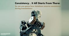 In order to maintain the consistency during transactions, database provides A) Commit B) Atomic C) Flashback D) Retain  #DataBase  #Consistency