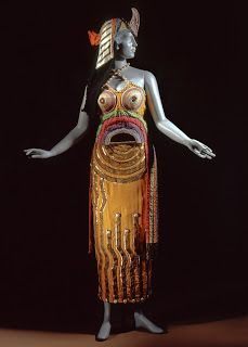 Cleopatra costume by Sonia Delaunay for Ballet Russes