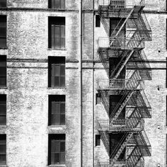 Chelsea fire escapes Alphabet City, Fire Escape, Urban Landscape, Instagram Feed, Chelsea, Abstract, Artwork, Summary, Work Of Art