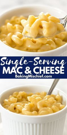 Mar 2020 - A quick recipe for mac and cheese for one. Easy, cheesy, and oh so good. Kids Mac And Cheese Recipe, Mac And Cheese Microwave, Healthy Mac N Cheese Recipe, Quick Mac And Cheese, Mac And Cheese Sauce, Cheesy Mac And Cheese, Mac Cheese Recipes, Healthy Vegan Snacks, Vegan Mac And Cheese