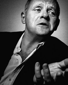 Anthony Hopkins by Platon