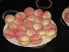 Biscotti Cookies, Vegan Sweets, Vegan Food, Pastry Cake, Recipies, Vegan Recipes, Peach, Homemade, Desserts